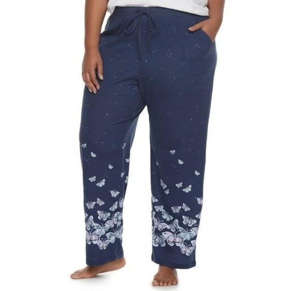 78c494caac Sonoma Butterfly Print Everyday Pajama Pants
